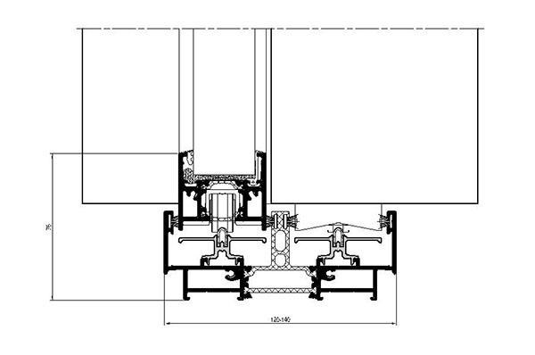 Sezione NC-S 120 STH LINEA SLIM