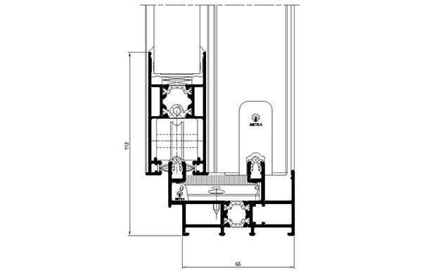 Sezione NC-S 65 STH LINEA MIAMI