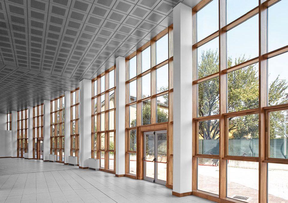 Wood-Alu Curtain Wall System